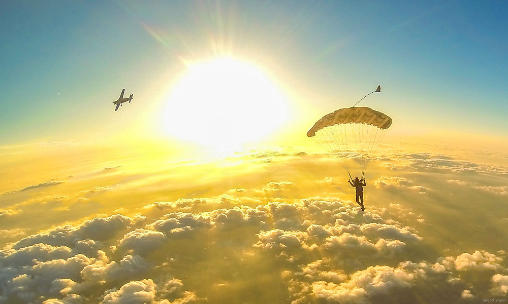 Skydive Parachuting