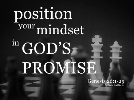 Position Your Mindset in God's Promise