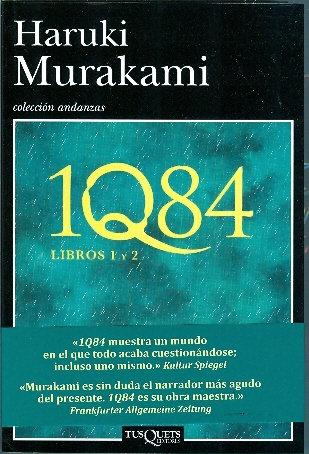 1Q84 Libro 1 y 2 - Haruki Murakami