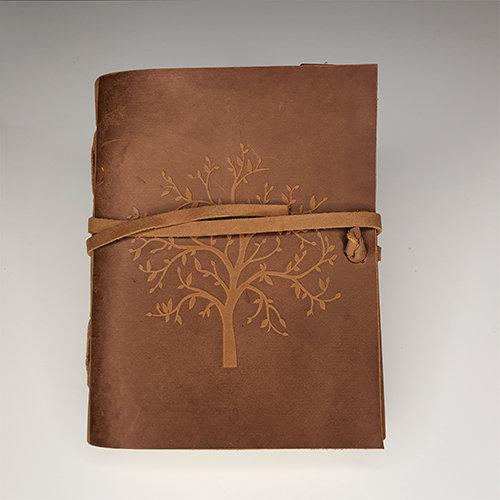 Libro cuero: Árbol de la vida