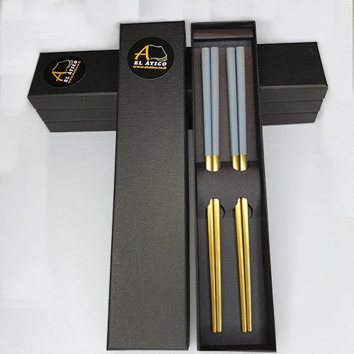 Juego de palillos japoneses: GRIS