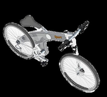 Bicicleta dobrável Synchro