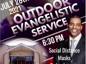 Outdoor Service 7/28/21