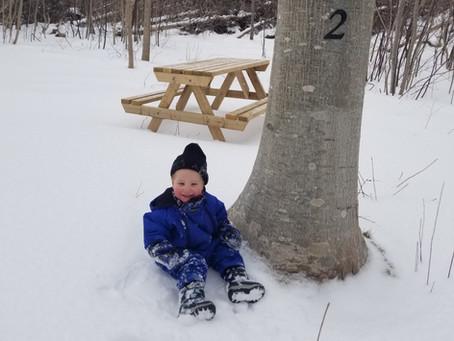 Winter at Riverside Retreat