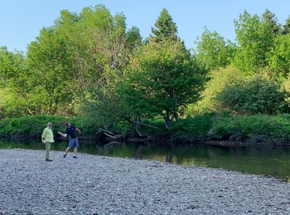 Riverside Retreat, Cheticamp River, Cape Breton Nova Scotia. Best campground in Cape Breton!