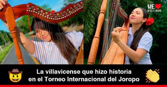 """Maria José Ávila, primera mujer en ganar la categoría de """"Mejor Instrumentista en Arpa Llanera"""""""