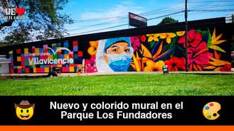 Arlex Arango realizó una obra artística en homenaje al personal de la salud