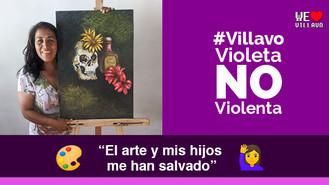 Aide Yaneth López Parra, la villavicense que utiliza el arte como técnica terapéutica