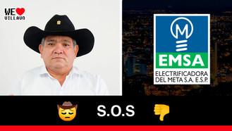 Diego Rojas, el gestor cultural que completa 72 horas sin energía eléctrica en Villavicencio
