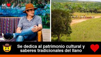 Jhon Moreno, músico, escritor e investigador especializado en la cultura del llano