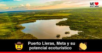 Lomalinda, la hermosa laguna que dibuja el mapa de Colombia