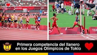 El metense Carlos Sanmartín representó a Colombia en los 3.000 metros con obstáculos