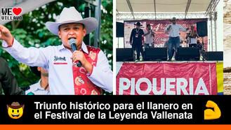El llanero Yostimar Prada se coronó como Rey de la Piqueria en Valledupar