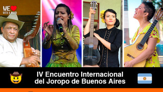Argentina hace homenaje a la música y cultura llanera