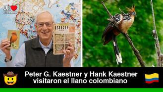 Estadounidenses expertos en avistamiento de aves disfrutaron de la avifauna en los llanos