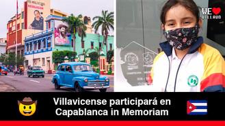Niña villavicense clasifica para torneo internacional que se celebra en Cuba