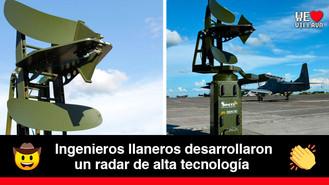 El Radar Sinder compite en el mercado internacional y americano