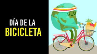 El 19 de abril es el día de la bicicleta