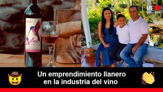 Wine Vivo's, un vino tinto a base de naranja tangelo producido por llaneros