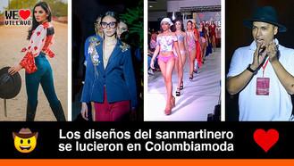 Jaime Gutiérrez representó al Meta en el evento de moda más importante de Colombia