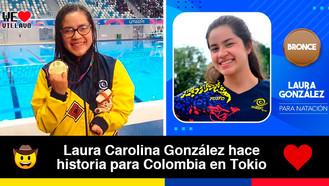 Villavicense es la primera colombiana en  ganar medalla en los Paralímpicos de natación