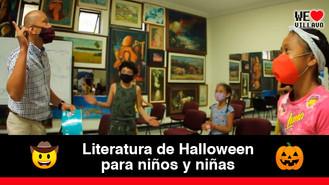 Tarde de terror en la biblioteca Germán Arciniegas