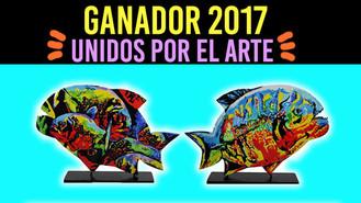 """""""El Pez Caribe"""" la obra más popular del concurso """"Unidos por el Arte 2017"""""""