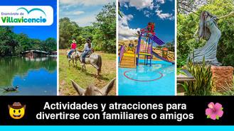 5 parques temáticos para disfrutar en Villavicencio