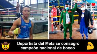 El Meta gana medalla de oro en Campeonato Nacional Juvenil de Boxeo