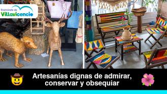 Las artesanías son uno de los principales atractivos de la Galería 7 de Agosto