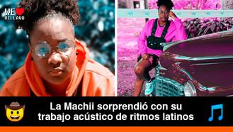 La Machii, una artista que espera transmitir amor con su música