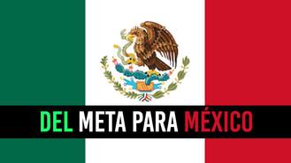 Los 15 jóvenes que representan al Meta en México
