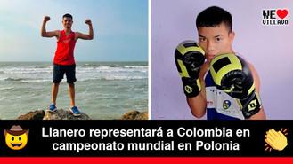 Daniel Ipia, el primer boxeador del Meta que participará en un campeonato mundial