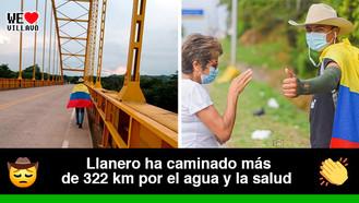 Luis Ángel Luna Ortiz llegará a la Casa de Nariño caminando desde el Casanare