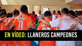 Selección Meta de fútbol infantil se corona campeona de la Copa Win Sports