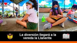 Continúa la promoción de lectura y escritura para los niños y niñas de Villavicencio