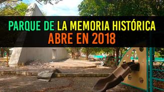 Villavicencio abrirá las puertas del Parque de la Memoria Histórica en 2018