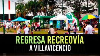 Domingo de recreovía y rumba aeróbica en Villavicencio