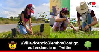Exitosa jornada de reforestación en Villavicencio
