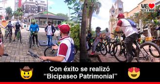 Los ciclistas de Villavicencio conocieron la historia de la ciudad