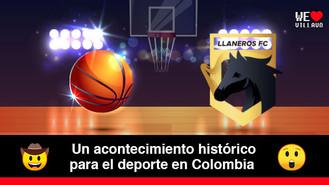 Llaneros FC oficialmente tiene equipo en la Liga Profesional de Baloncesto