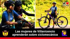 Taller de mecánica básica de bicicletas para mujeres en la Galería 7 de Agosto