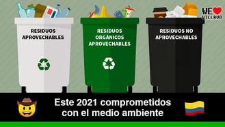 Conoce el nuevo código de colores para la separación de residuos sólidos