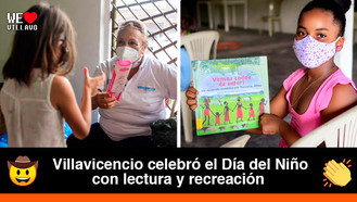 Niños y niñas del barrio la Nohora celebraron con actividades lúdicas y regalos