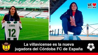 Ángela Korina Clavijo, la llanera que continúa destacándose en el futbol europeo
