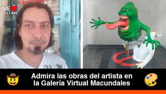El llanero Vladimir Ochoa Camacho y sus atractivas obras de arte