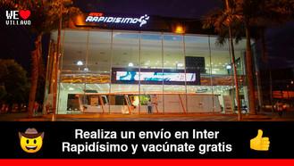 Inter Rapidísimo dispondrá de 2.000 vacunas contra el Covid-19 para sus clientes