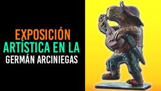 La pintura y la escultura se toman la Biblioteca Germán Arciniegas