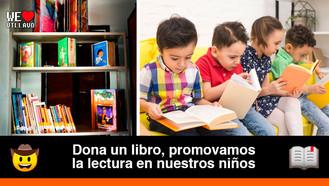 Villavicencio celebrará el Día del Idioma con la colecta de libros donados para nuestros niños
