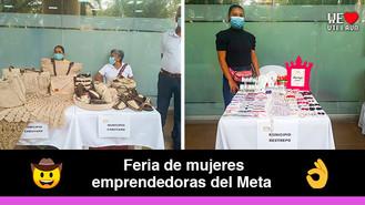 Emprendedoras llaneras llegaron a Villavicencio a ofrecer sus productos
